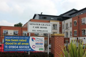 Minster Grange Care Home in York